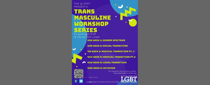 Trans Masculine Workshop Series