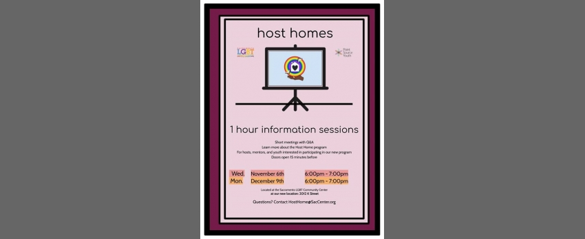 Host Home Informational Sessions