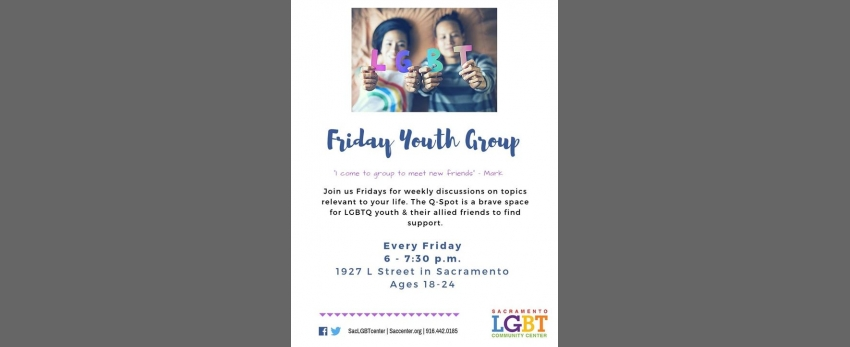 Friday Youth Group (Ages 18-24)