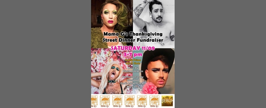 Turn up for Mama G's: A Drag Fundraiser at Beaux!