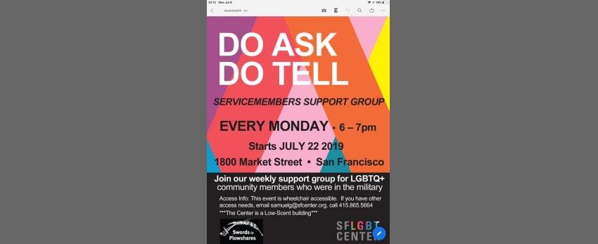 Do Ask! Do Tell!