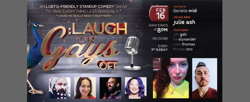 Laugh Your Gays Off - Free Comedy in The Castro!