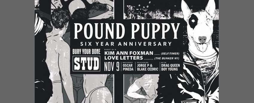 Pound Puppy turns 6! Feat. Kim Ann Foxman & Love Letters