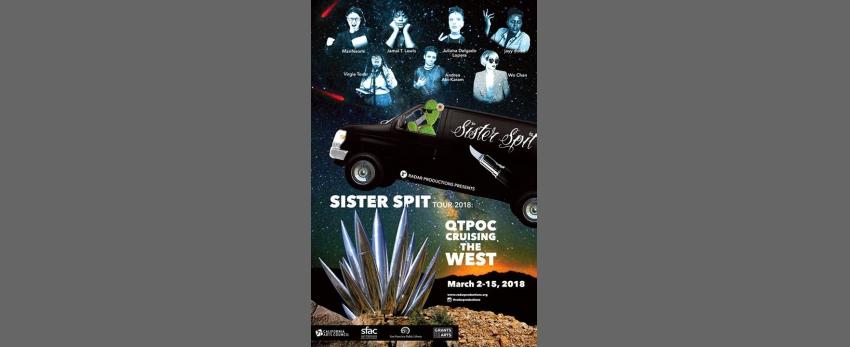 Sister Spit: QTPOC Cruising the West Tour - San Francisco