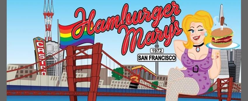 Fri/Sat. Drag Shows at Hamburger Mary's!