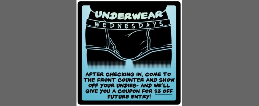 Underwear Wednesday