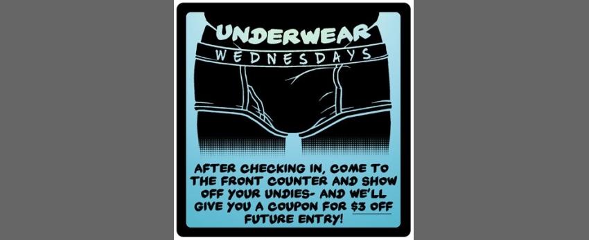 Underwear Wednesday