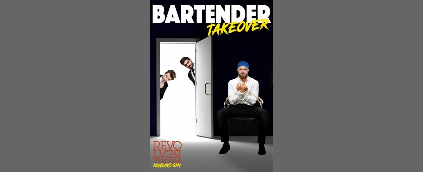 Bartender Takeover every Monday Night at Revolver Video Bar