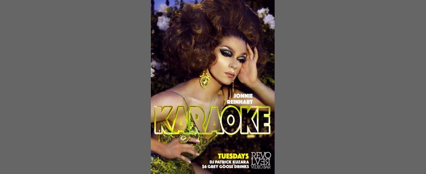 Karaoke with Jonnie Reinhart every Tuesday Night at Revolver