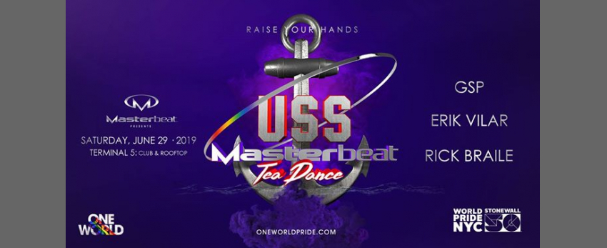 USS Masterbeat Tea Dance: WorldPride NYC
