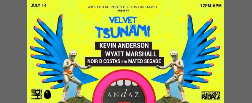 Velvet Tsunami Pool party: SD Pride Edition