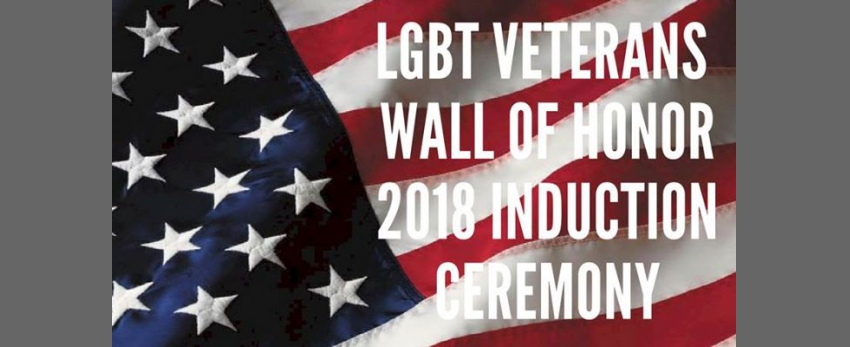 LGBT Veterans Wall of Honor 2018 Induction Ceremony
