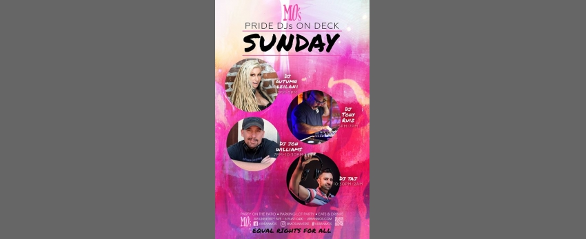 Sunday 14 • 2019 SD PRIDE • MO's