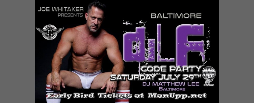 9759abb09c4 DILF Baltimore Men s Underwear Jock Code Party à Baltimore le 29 ...