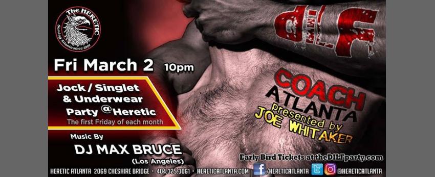 DILF Atlanta Coach Edition Jock/Singlet Party by Joe Whitaker