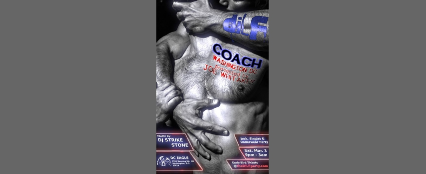 "DILF Washington DC ""Coach"" Jock/Singlet Party by Joe Whitaker"