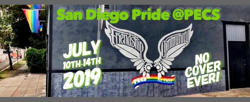 San Diego Pride @PECS