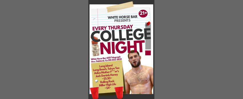 Thursday College NIGHT