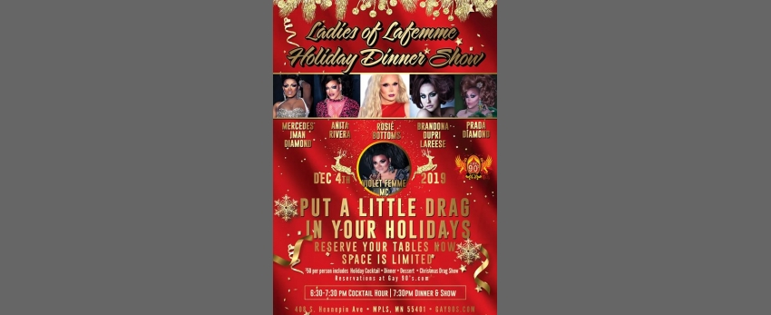 Ladies Of LaFemme Holiday Dinner Show