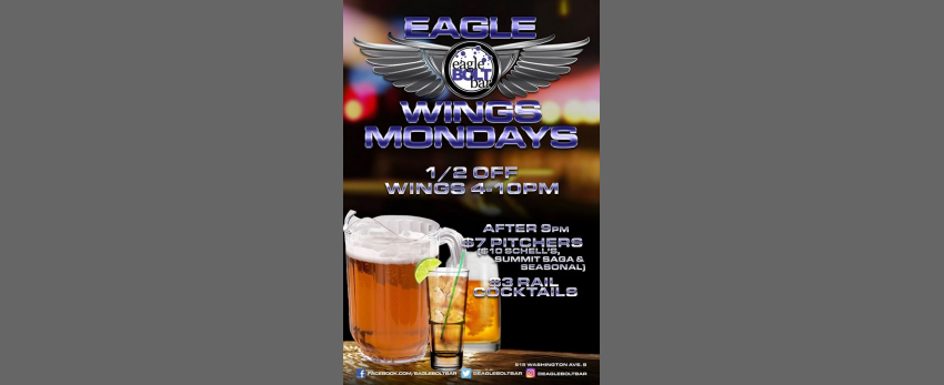 Mondays at the eagleBOLTbar