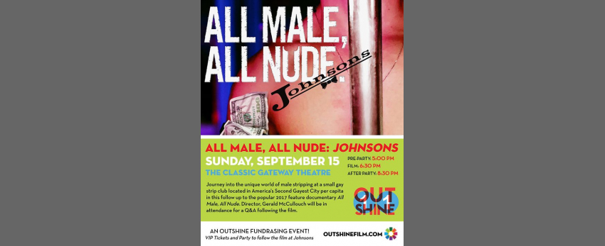 All Male, All Nude: Johnsons - An OUTshine Fundraiser
