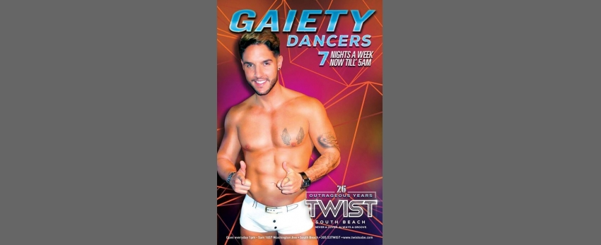 Twist Gaiety Dancers!