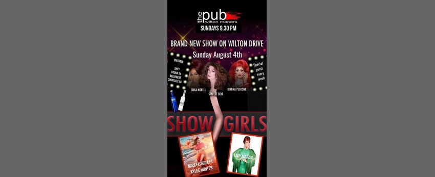 Showgirls at thePUB