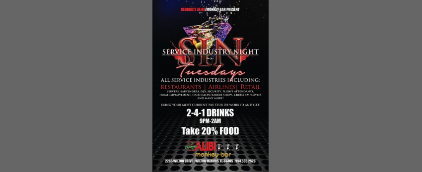 Service Industry Night