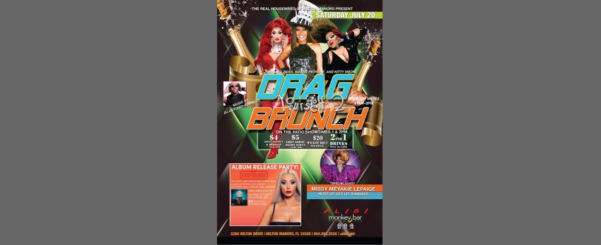 Drag Yourself to Brunch Saturdays