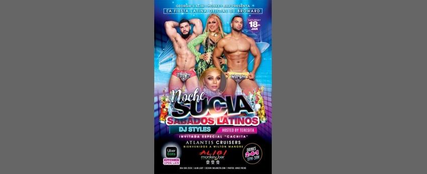 Noche Sucia Saturdays with La Globos