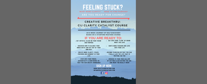 Creative Breakthru course
