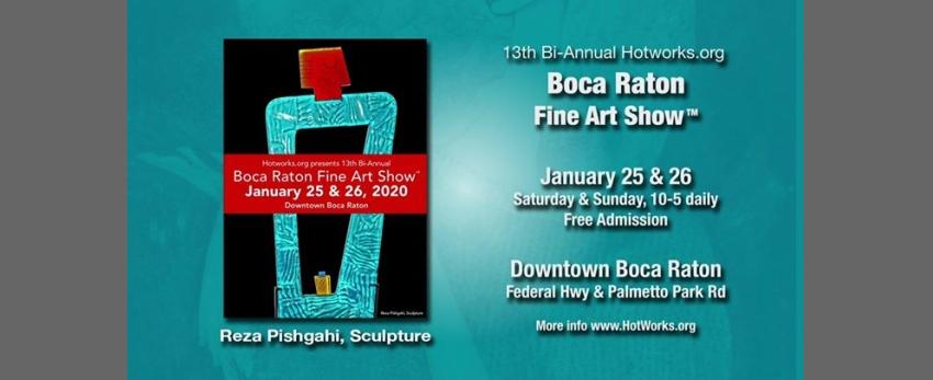 13th HotWorks.org Boca Raton Fine Art Show
