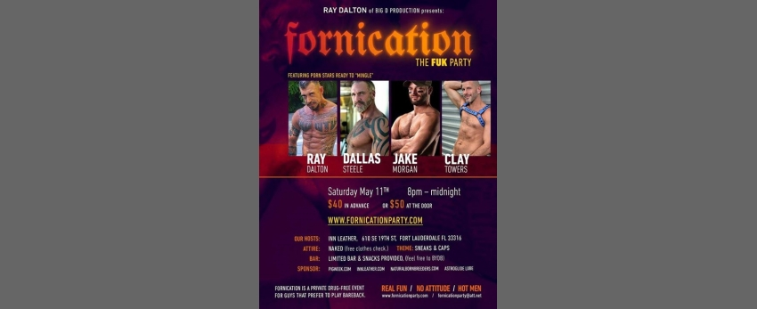 Ray Dalton Fornication Fuk Party