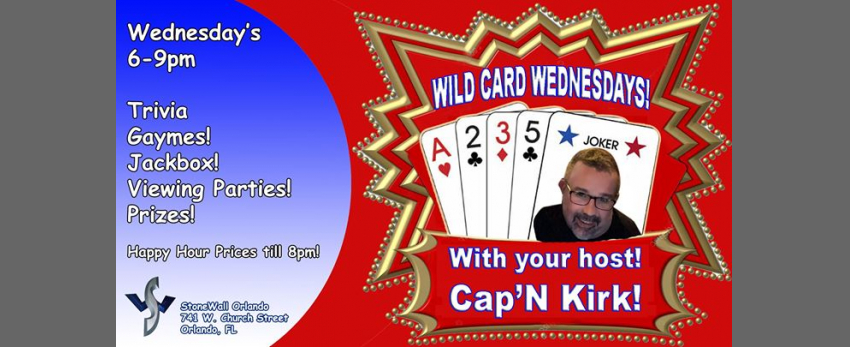 Wild Card Wednesdays!