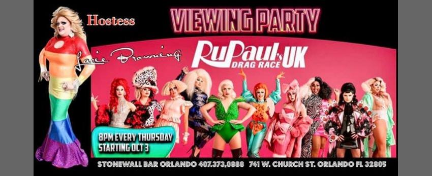 RuPaul U.K. Viewing Party