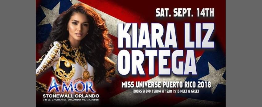 Kiara Liz Ortega Miss Universe Puerto Rico 2018