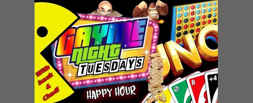 Gayme Night Tuesdays!