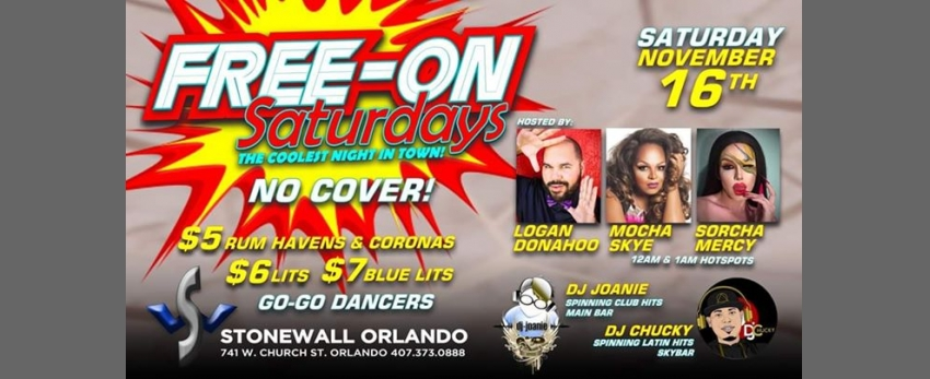 Free-On Saturdays!