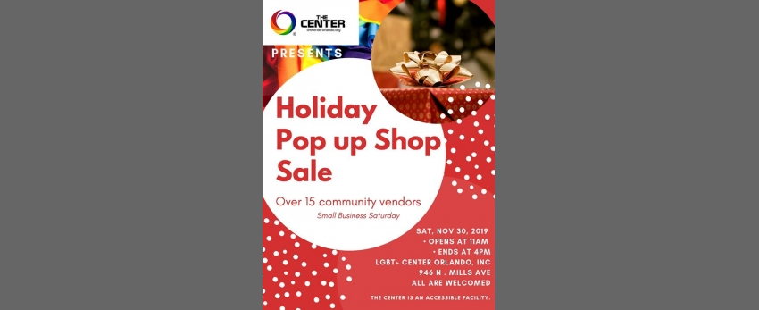 LGBT+ Holiday Pop Up Shop