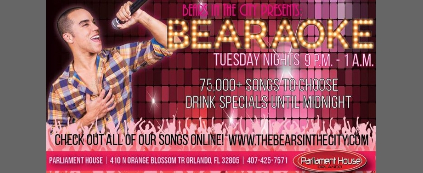 Bearaoke Tuesdays