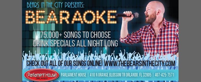 Bearaoke Thursdays
