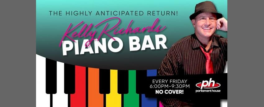 Kelly Richards Piano Bar Sing-A-Long