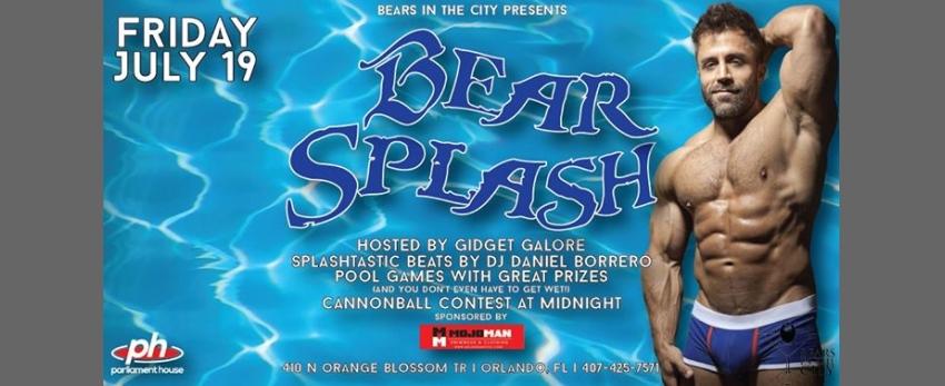 Bears Night Out - Bear Splash