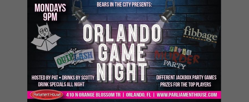 Orlando Game Night