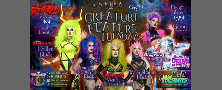 09.17 Creature Feature w/ Matryx & Annie Mae