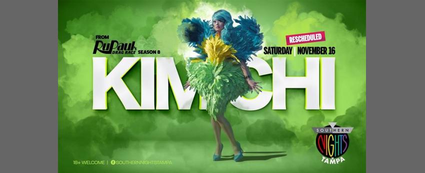 11.16.2019 Kim Chi from RuPaul's Drag Race Season 8