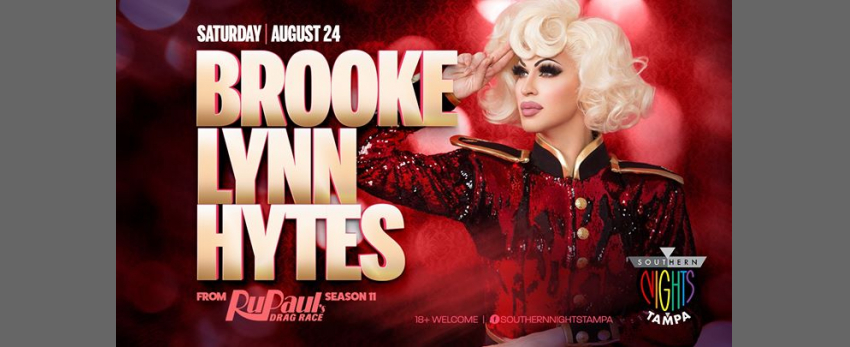 8.24.19 Brooke Lynn Hytes at Southern Nights Tampa