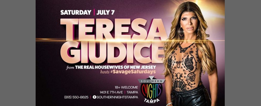 Teresa Giudice from The Real Housewives of New Jersey Hosts