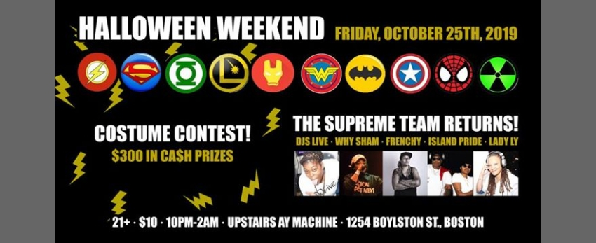 Supreme Team Halloween