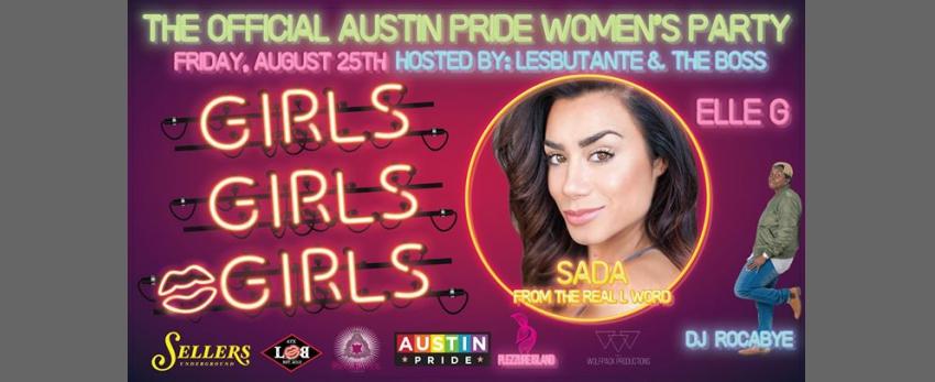 Austin Pride Official Women's Party 2017